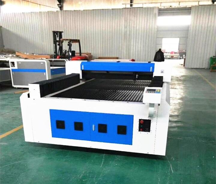 Asia Machinery net - 130W 1610 CO2 laser cutting machine - Jinan