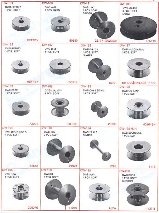 Asia Machinery.net 亞洲機械網 - 梭子 (各式縫紉機品牌 ...