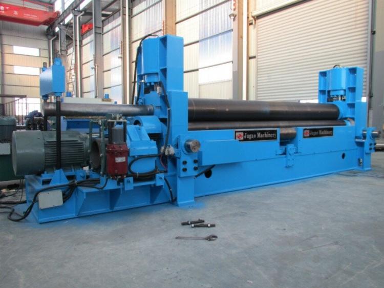 Asia Machinery.net - cnc hydraulic rolling machine metal rolling machine  plate roller steel plate sheet roll bend bending machinery - Nantong Jugao  Machinery Co.,Ltd