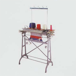 Flat Hand Knitting Machine